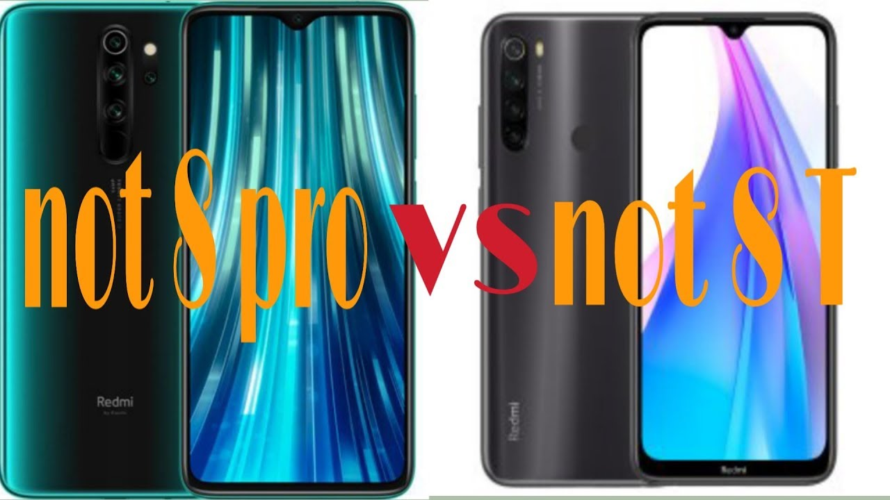 مقارنة بين هاتف نوت 8 برو ونوت8 not 8 pro vs not