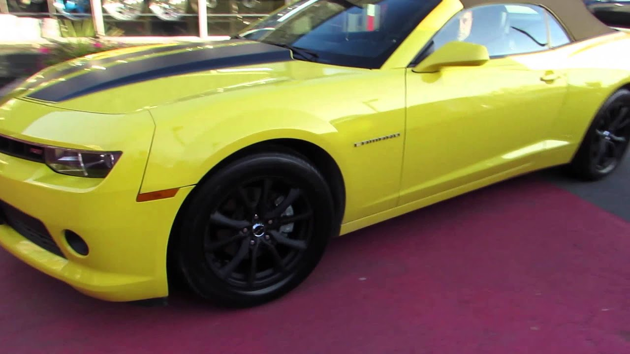 Chevy Camaro 2014 Black Rims