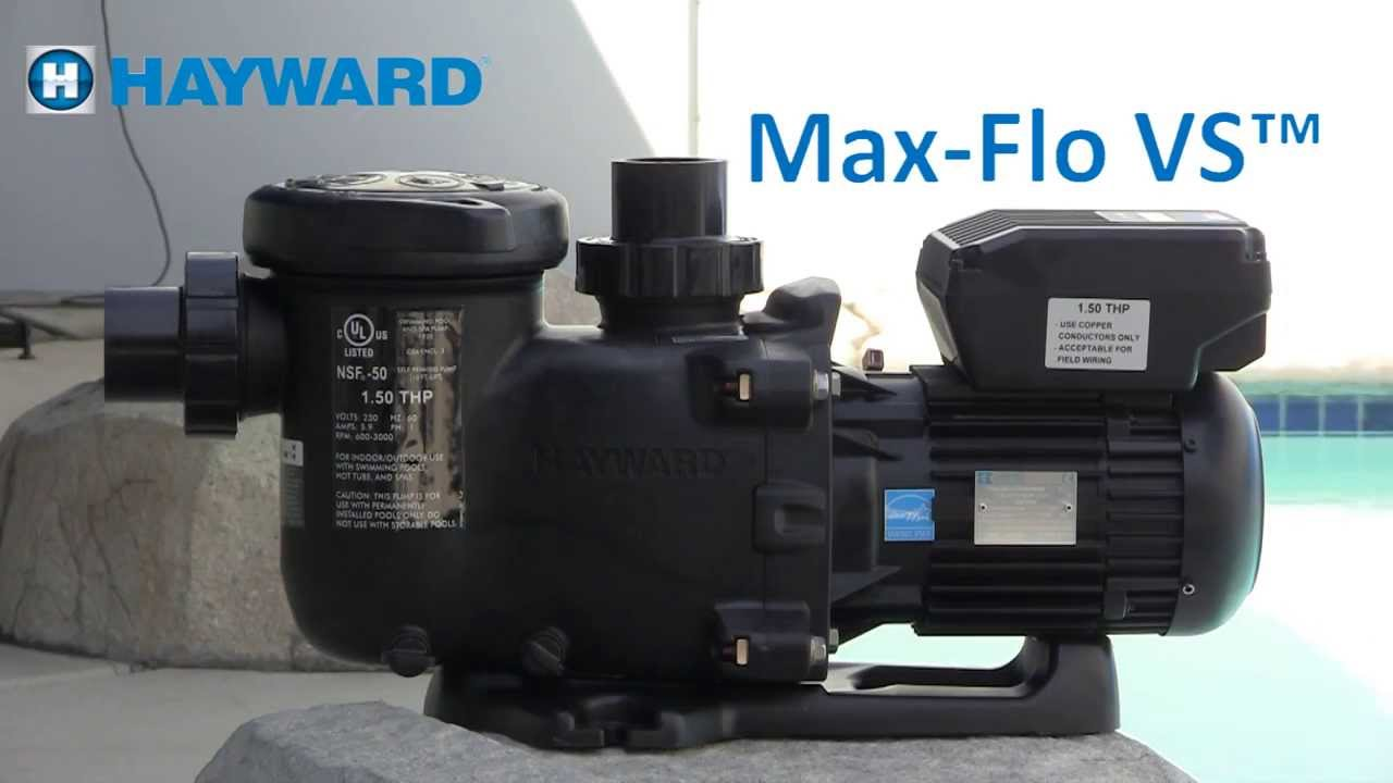maxresdefault max flo vs variable speed pump programming and troubleshooting Hayward Pro Max at aneh.co
