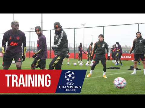 Training | Reds prepare for the visit of RB Leipzig in the UEFA Champions League | Manchester United