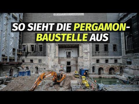 Pergamonmuseum-Baustelle: Vier Jahre länger, 216 Mio. € teurer.