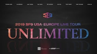 [EieN TV] 에스에프나인 SF9 USA · Europe Live Tour Unlimited [Warsa…