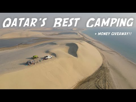 Qatar's Best Camping Spots   Money Giveaway