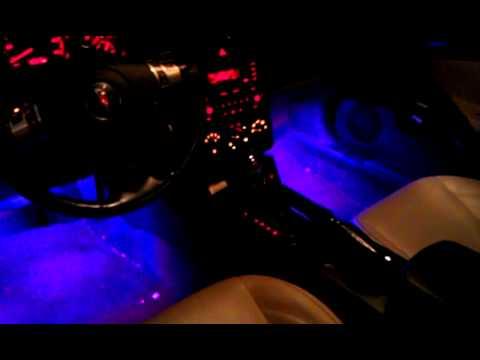 pontiac g6 with led glow interior under glow youtube