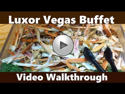 Luxor Vegas Buffet Saturday Dinner Full  Walkthrough: N.1 South Strip?  from top-buffet.com