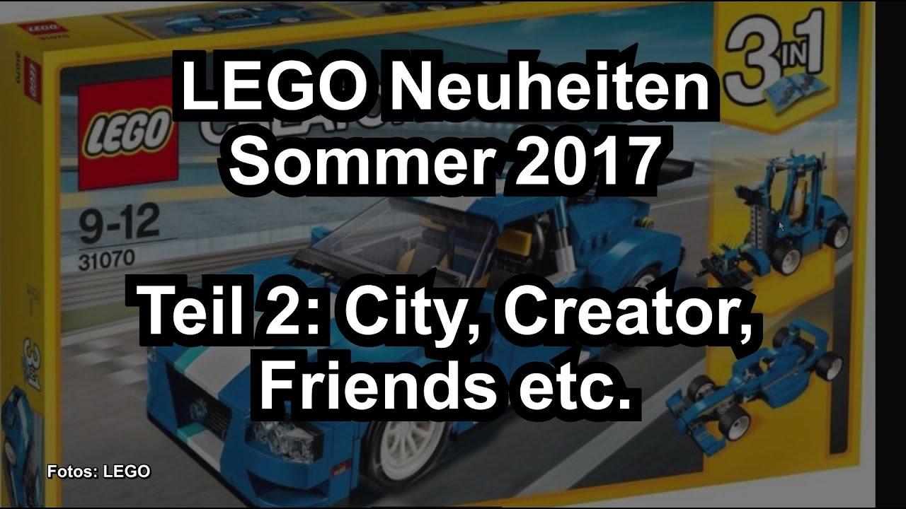 lego neuheiten sommer 2017 teil 2 creator city friends. Black Bedroom Furniture Sets. Home Design Ideas