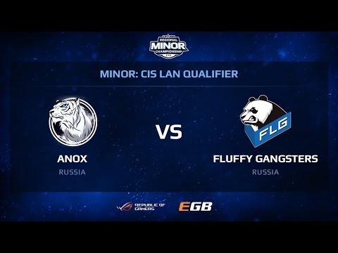 ANOX vs FLG, map 1 mirage, CIS Minor Moscow Finals