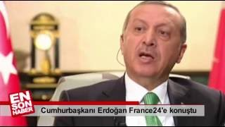 Cumhurbaşkanı ERDOĞAN franca muhabirine çarpıcı açıklama .