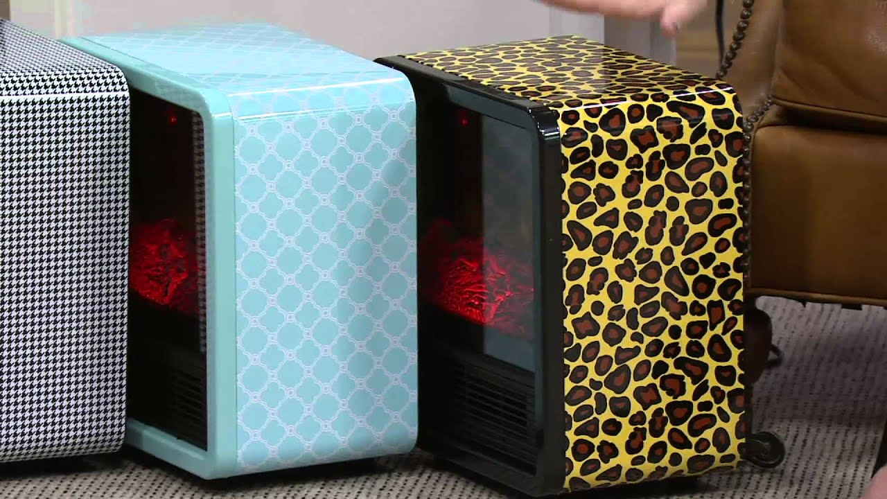 Superior Duraflame 1500W Small Portable Heater With Realistic Flame Effect On QVC