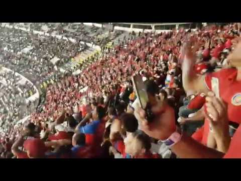 Mexico Vs Costa Rica Estadio Azteca 24-03-2017.  Salida de Equipos