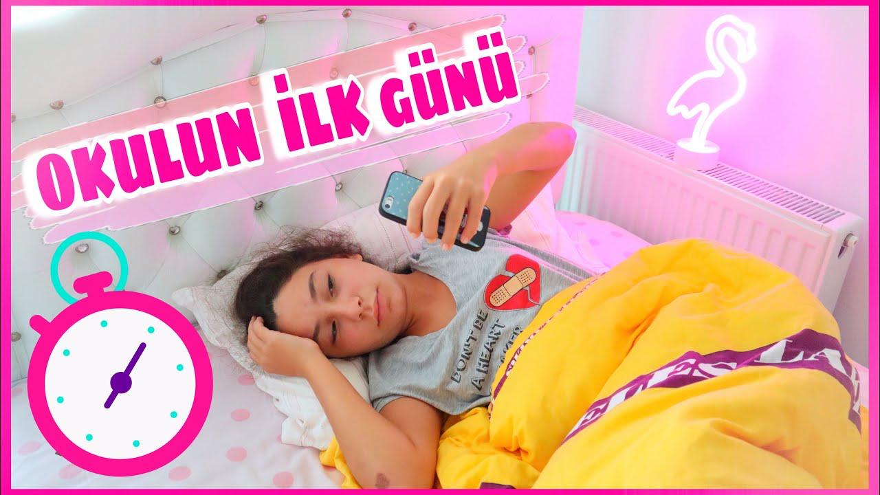 Okulun İlk Günü Sabah Rutinim - Dram İçerir ???? Eğlenceli Video