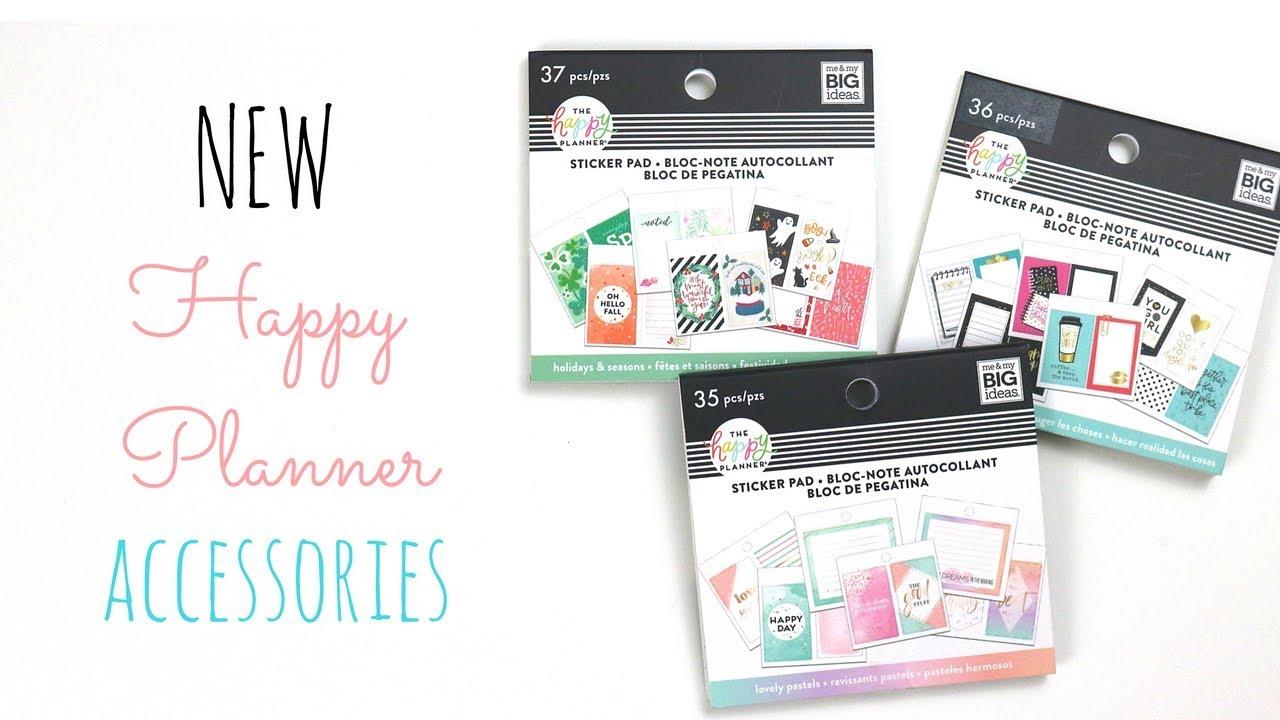 NEW Happy Planner Accessories