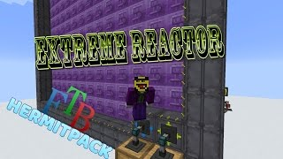 Extreme (Big) Reactor setup - 2MRF/t and 3.2 GRF/ingot - FTB Hermit Pack - modded Minecraft 1.10.0