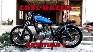 Escape Cafe Racer TP para Yamaha SR 500//400// 250//125 Negro