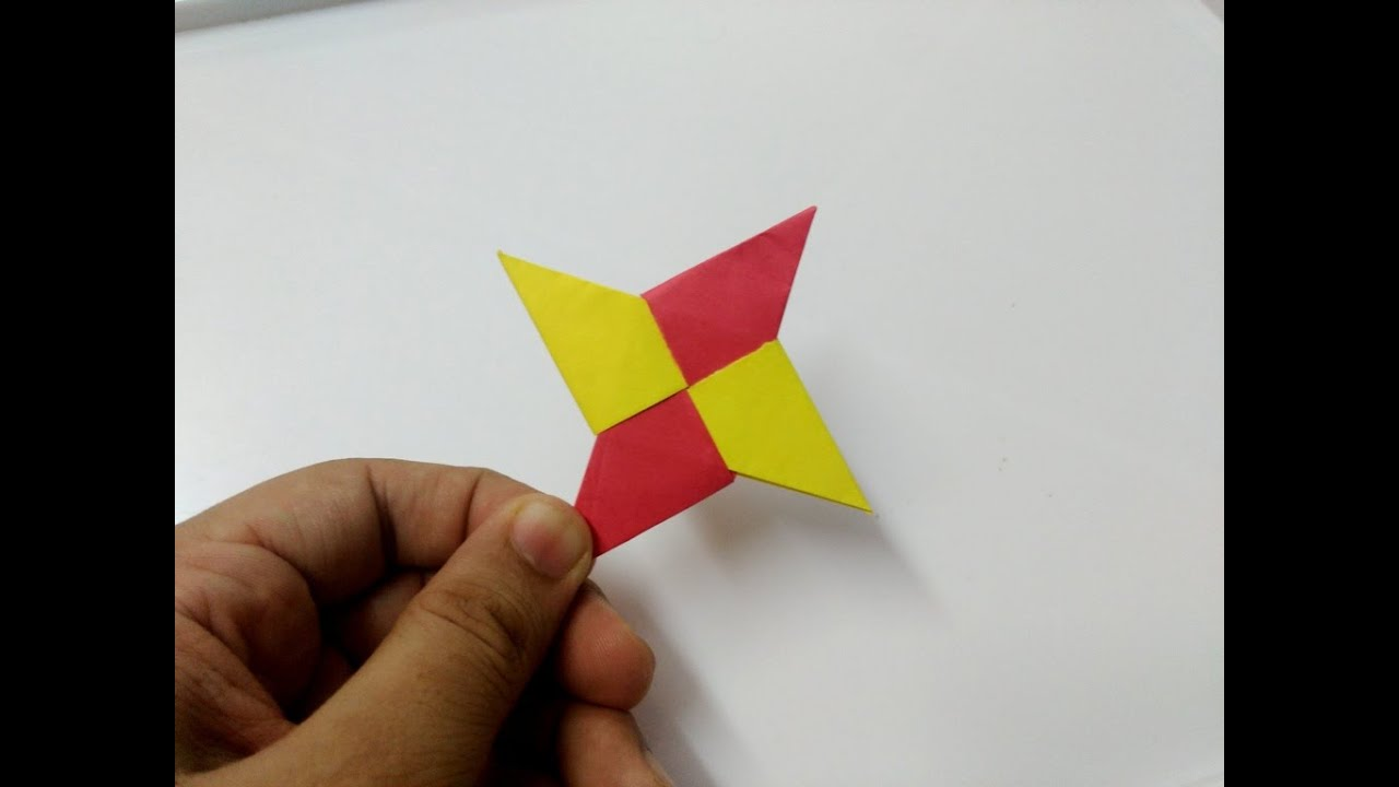 How To Make Origami Paper Ninja Star