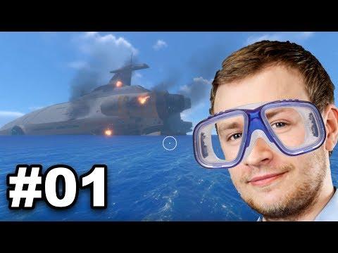 Ab ins Blaue!!! | Subnautica Gameplay [#01]