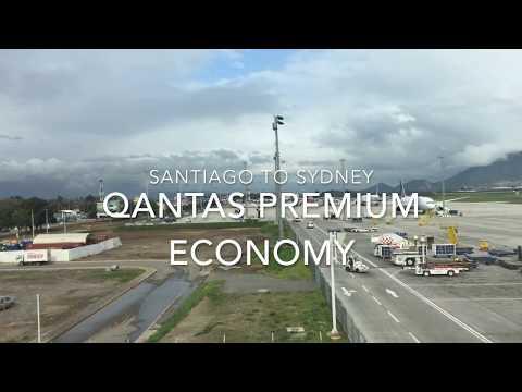 Review: QANTAS Santiago to Sydney in Premium Economy