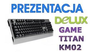 Unboxing Klawiatury Mechanicznej Delux Game Titan KM02 - HardPC TV #112