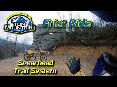 Stone Mountain Spearhead Trails - KTM EXC250