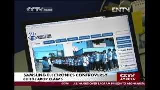 Samsung Electronics child labor claims