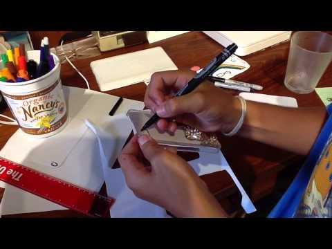 DIY Paper Phone Cases