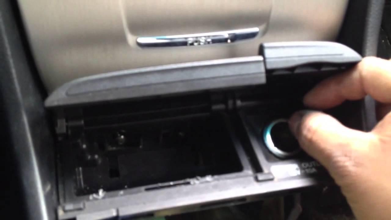Como Instalar Un Ipod Aux Adaptar En 2003 Honda Accord Y