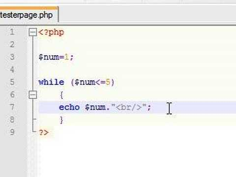 Image result for php while