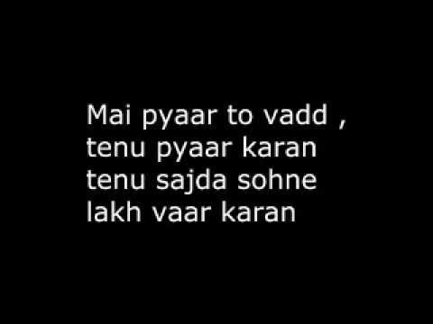 soch lyrics