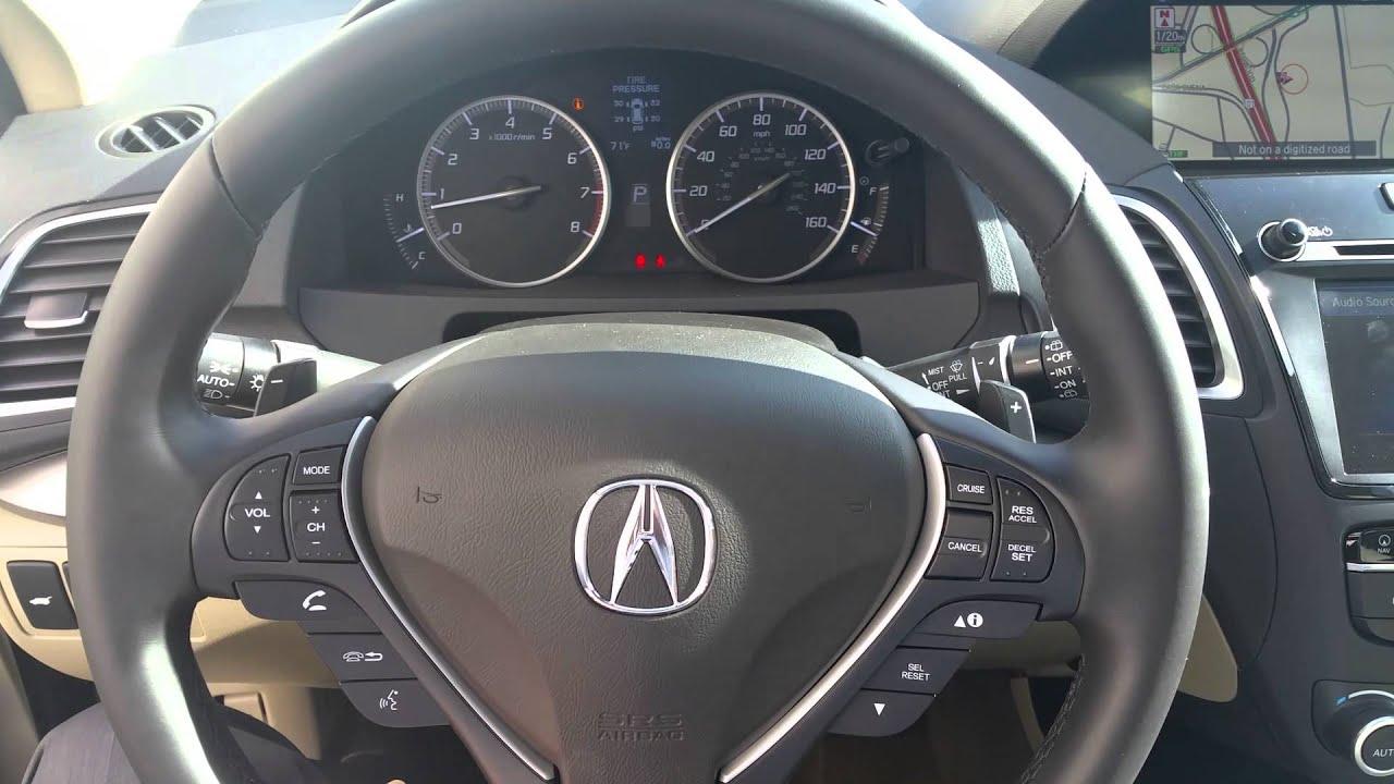 How To Adjust Steering Wheel On Acura RDX Ms YouTube - Acura steering wheel