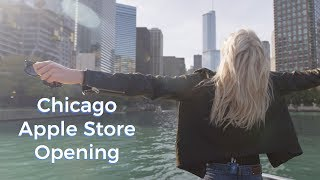 Apple Store Opening in CHICAGO! | Karlie Kloss