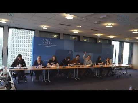 Le BTS audiovisuel à la rencontre de Mémona Hintermann, conseillère pour le CSA