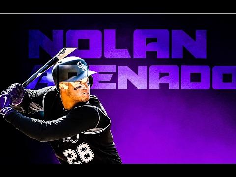 Nolan Arenado 2016 Highlights