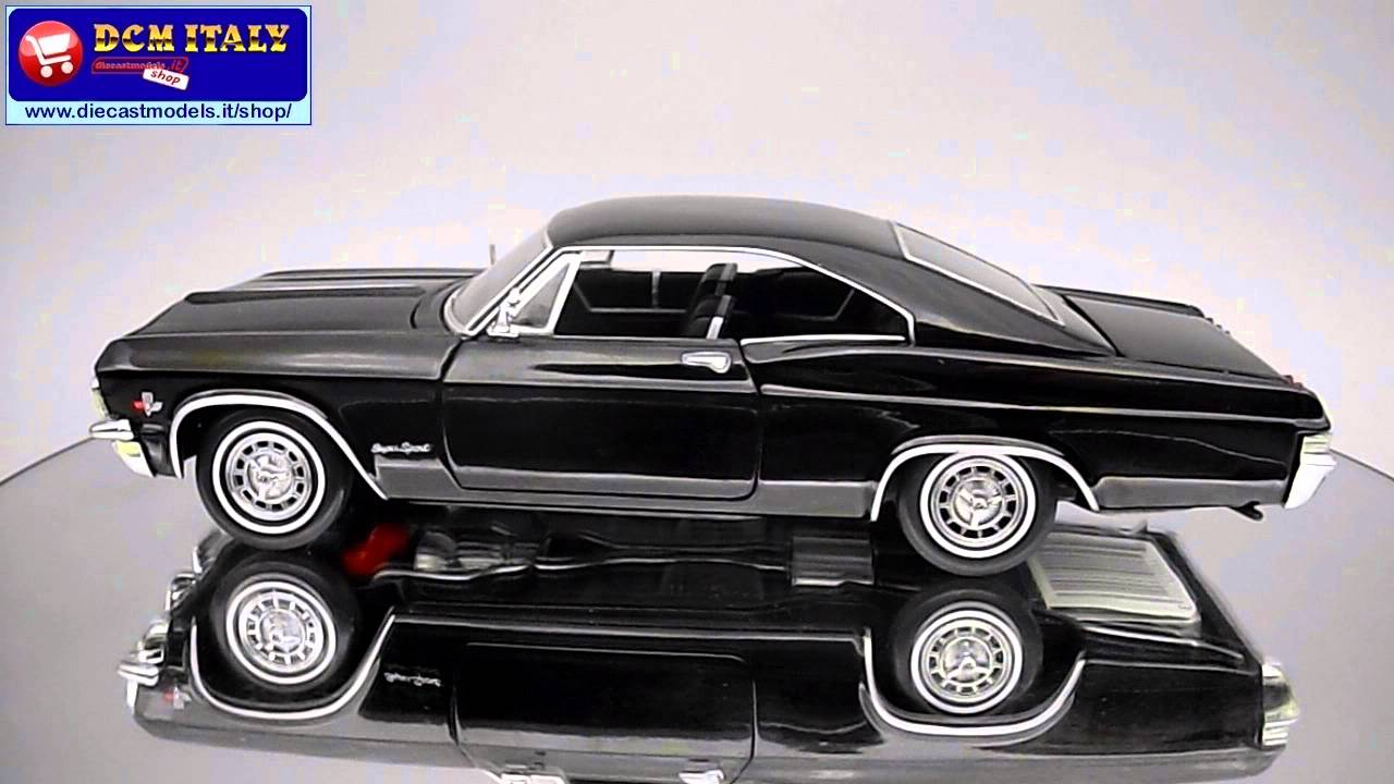 chevrolet impala super sport coupe 1965 sunstar 1 24 youtube. Black Bedroom Furniture Sets. Home Design Ideas