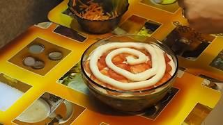 салат матрёшка - рецепты салатов
