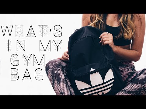 What's In My Gym Bag