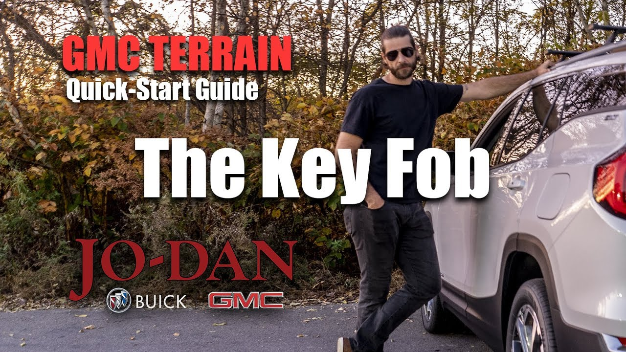 Key Fob On The Gmc Terrain Video Quick Start Guide Youtube