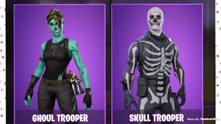 LOOK IN THE NEWS ON FORTNITE // bone chilling gear tomorrow SKULL TROOPER IS BACK TOMORROW