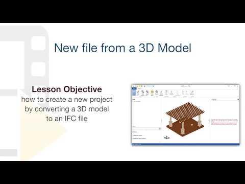 Converting a 3D model into an IFC format - BibLus