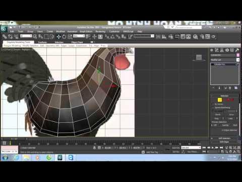 3D Max - Hướng dẫn dựng con gà 3D