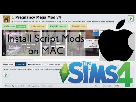 HOW TO: Install Sims 4 Script Mods on a MAC | CSIMS4