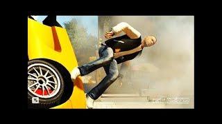 GTA 4 - Трюки, Аварии и Приколы! [#53]