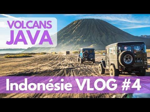 Volcans de JAVA : BROMO et KAWAH IJEN - VLOG Indonésie 04