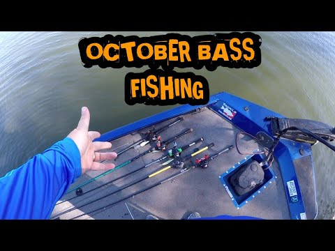 October Bass Fishing 2019