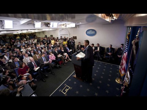 6/23/09: White House Press Briefing with President Obama