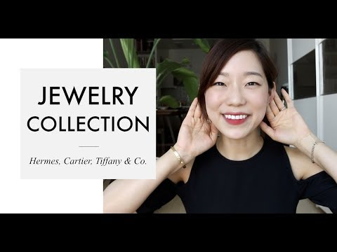 💍MY JEWELRY COLLECTION (feat. Hermes, Tiffany & Co., Van Cleef & Arpels) | 쥬얼리 컬렉션 | GOONIN WIFE