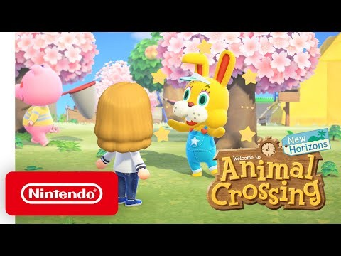 Animal Crossing: New Horizons - Bunny Day Event - Nintendo Switch