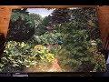 Secret Garden (Full Time-lapse) Acrylic Painting
