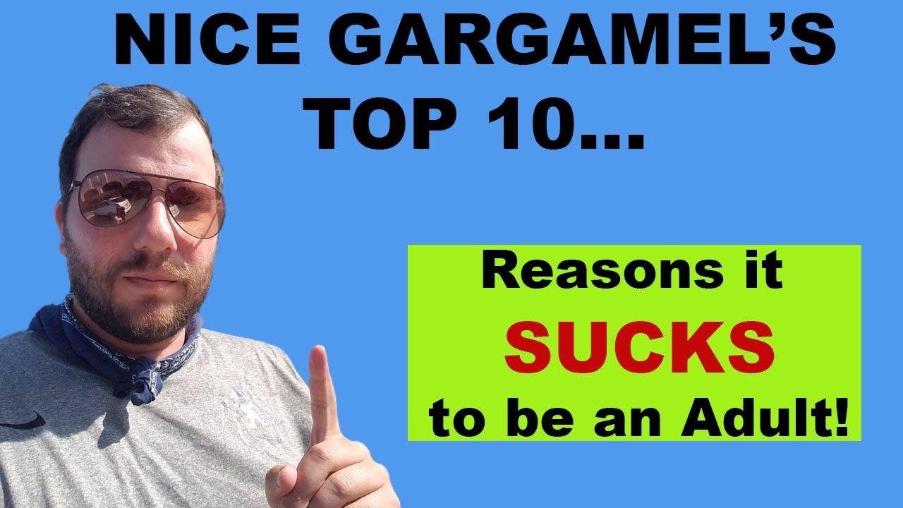 Top 10 Reasons it SUCKS to be an Adult w/ Joe Mac