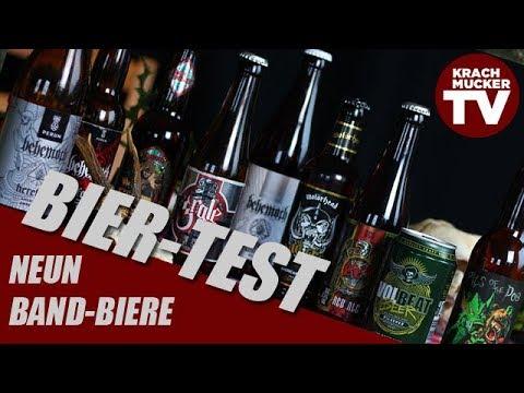Die große Band-Bier-Test-Show (mit Bier von Volbeat, Behemoth, Motörhead etc.)