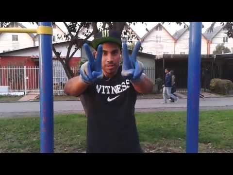 Muscle Up TWO FINGERS - The Cams Street workout Chile -Bar-belicos